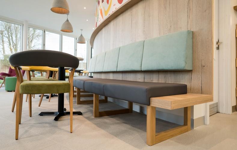 Wooden entrance seating - K&D Joinery Dagenham