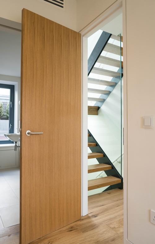 Internal wood doors and staircase - Marylebone