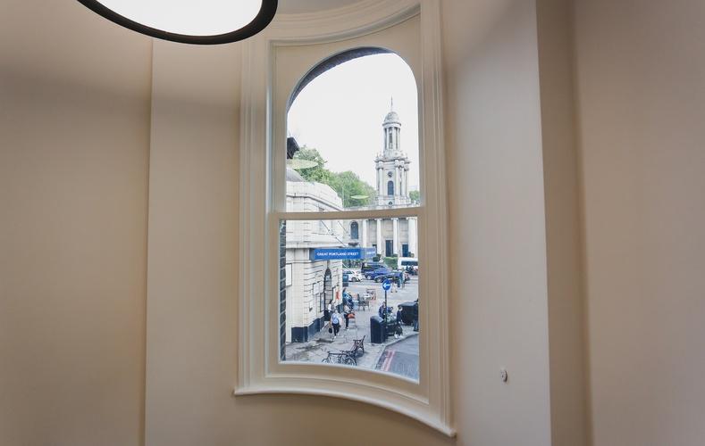 Sash Windows - Great Portland Street Station - K&D Joinery