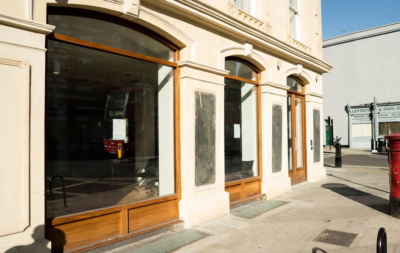 Shopfront windows - K&D joinery