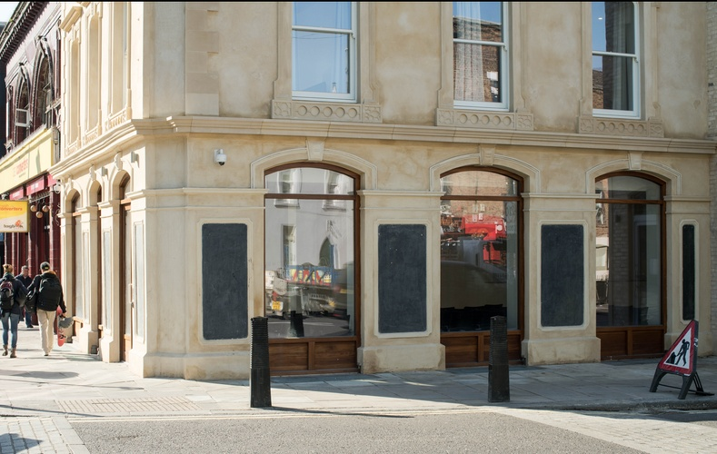 Shopfront windows - K&D joinery