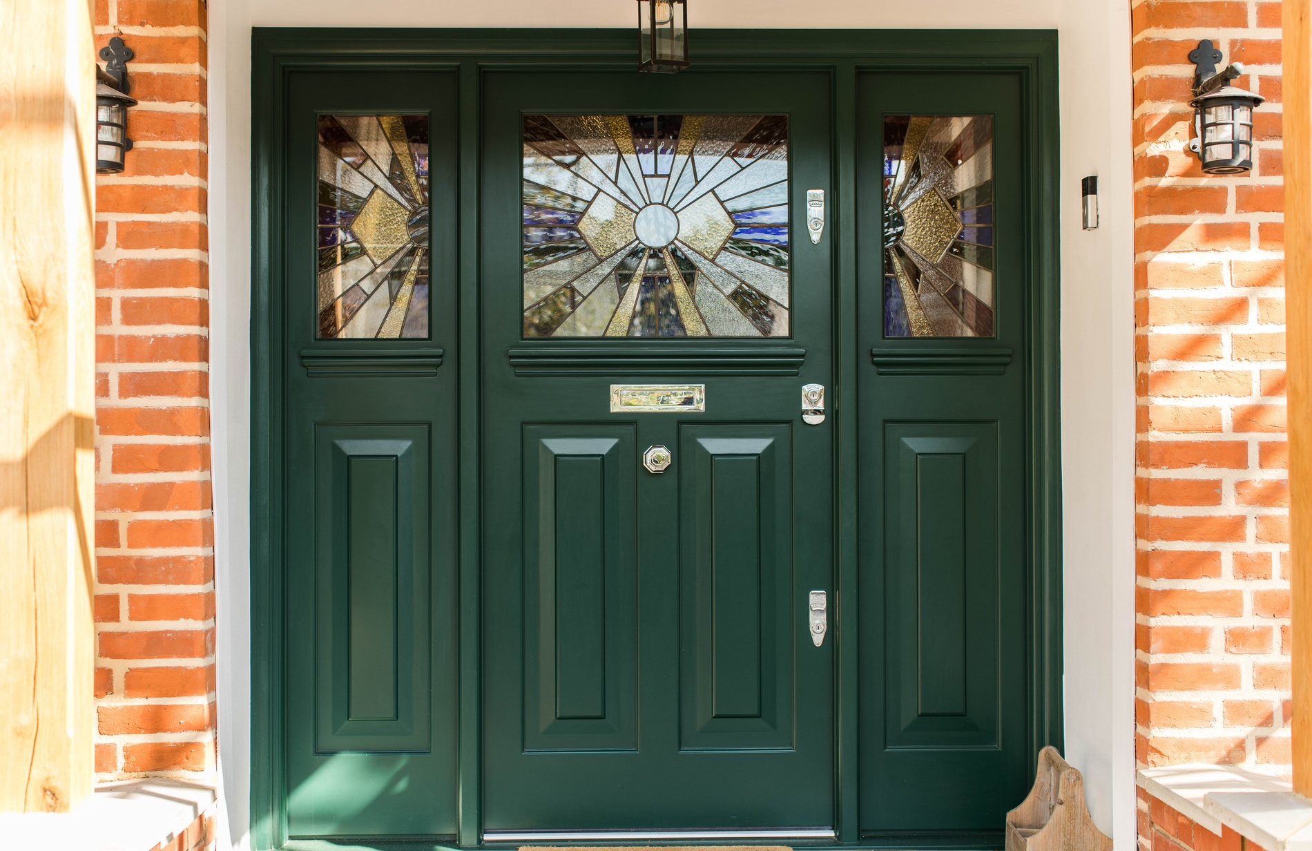 Victorian front door manufacturer - K&D Joinery London