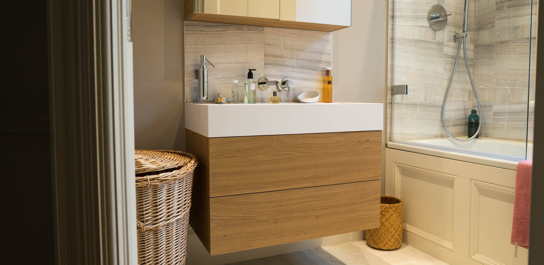 Bathroom cabinetry - K&D Joinery London