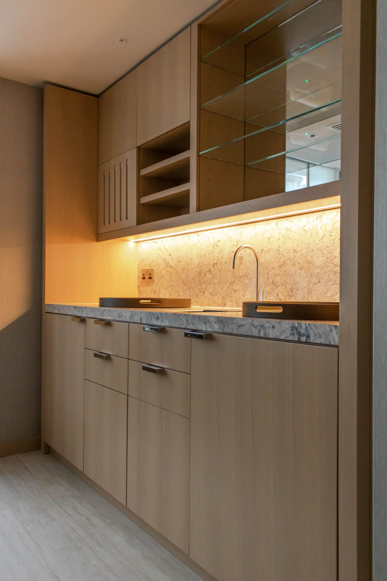 Kandd kitchen interior cabinetry