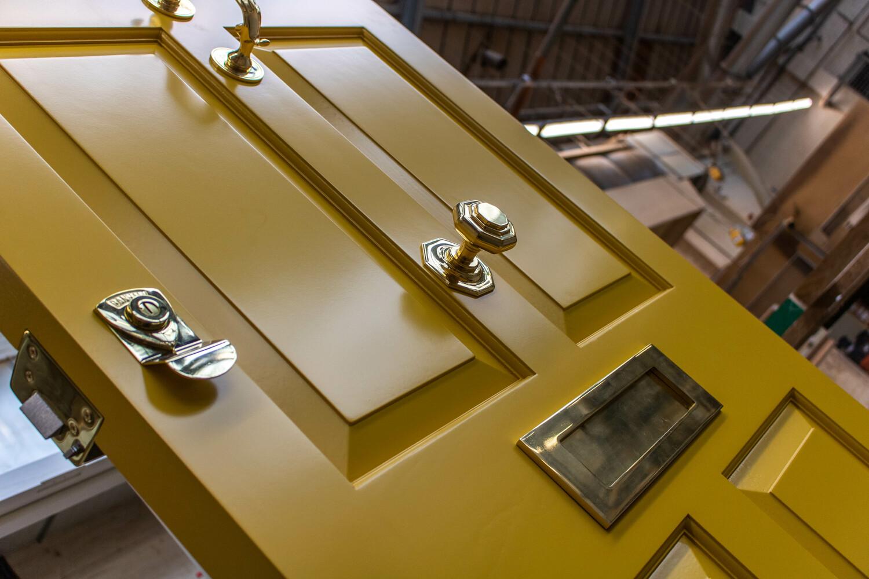 Wooden front door manufacturer. K&D Joinery, London