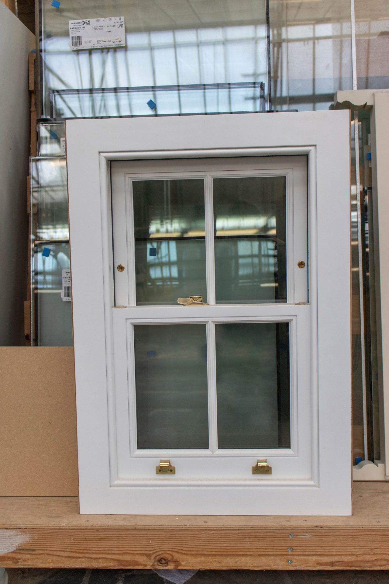 Wooden sash window manufacturer - K&D Joinery