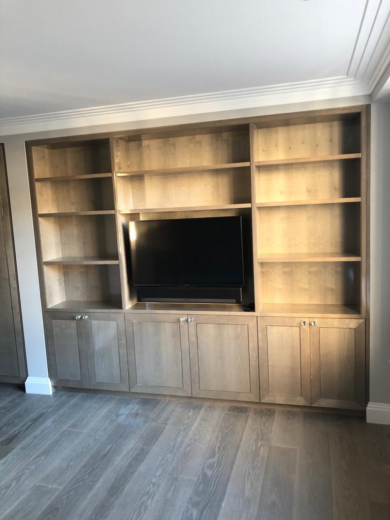 Belgravia grey wood indoor cabinetry