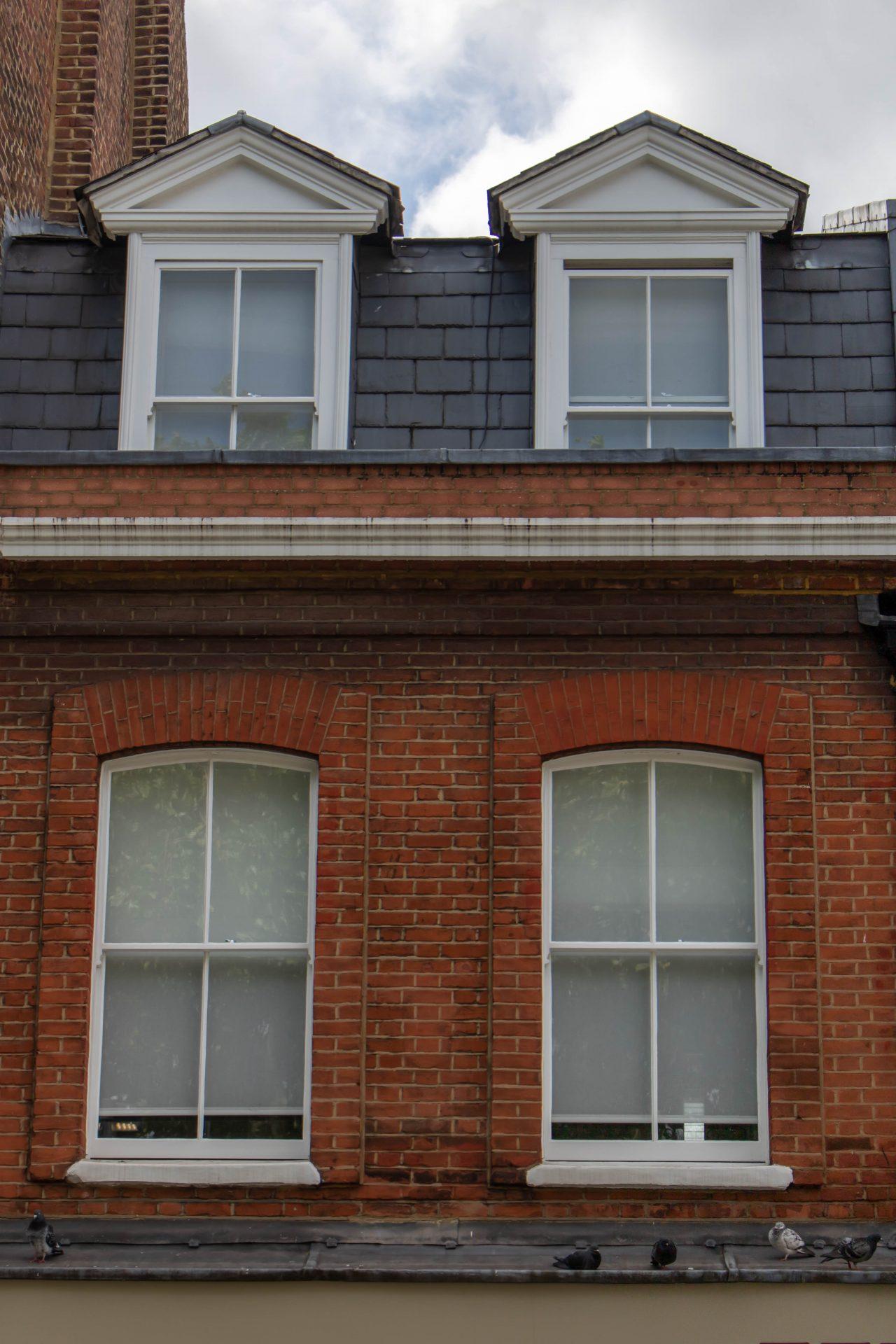 kandd window joinery above shopfront