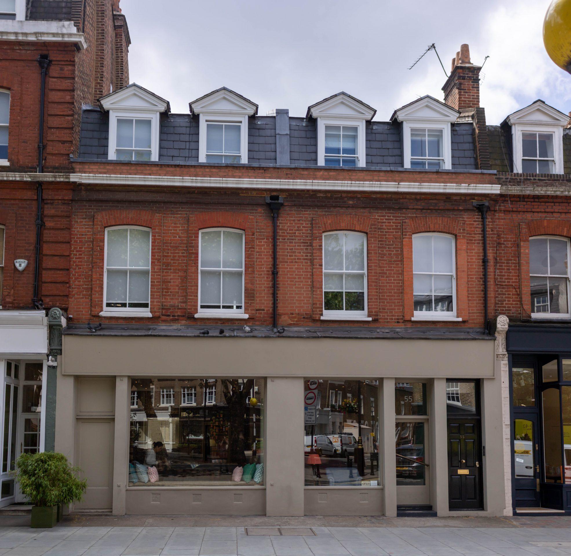 Kandd shopfront window joinery Project
