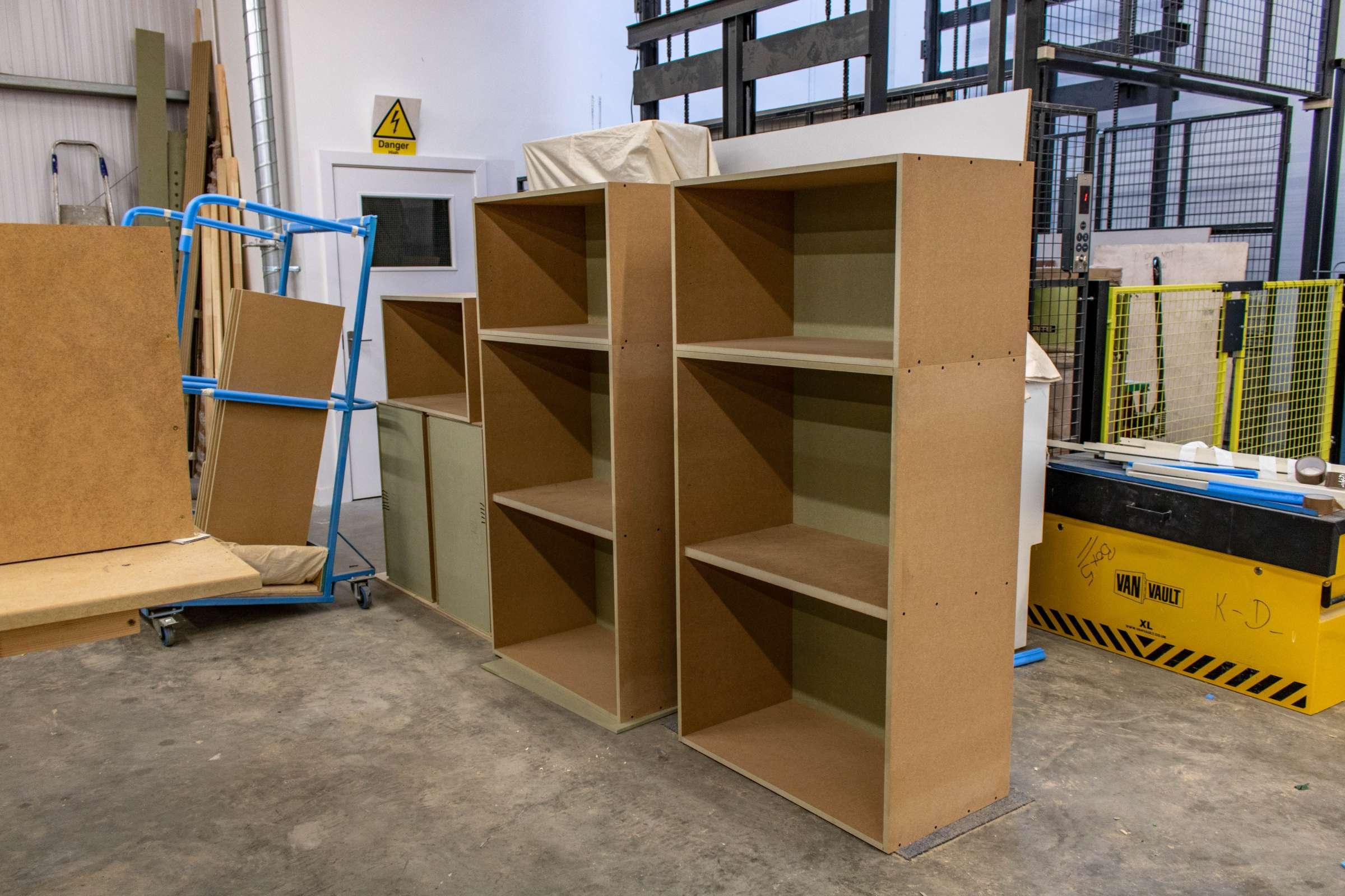 Kandd Shelves design