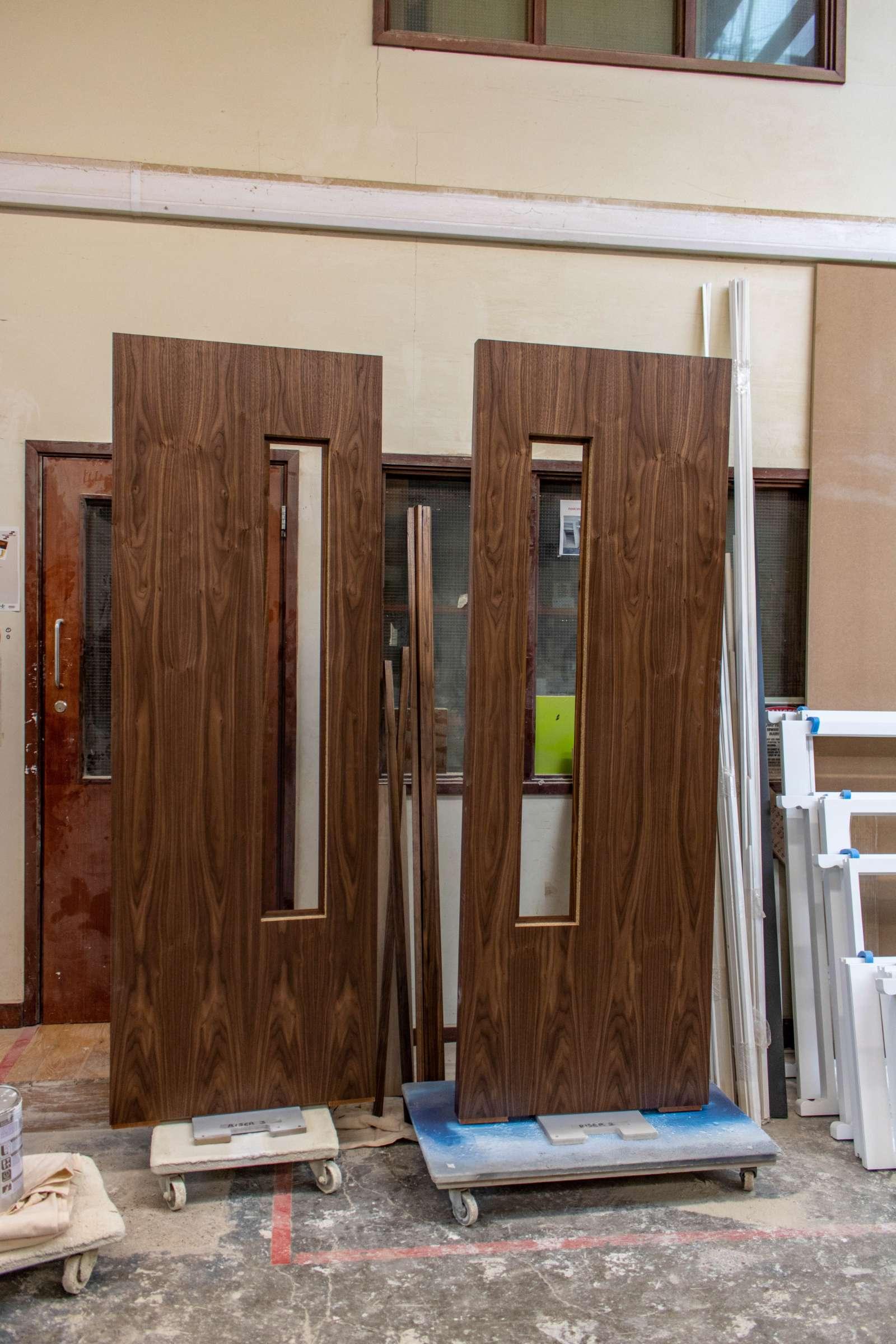 Kandd polished door