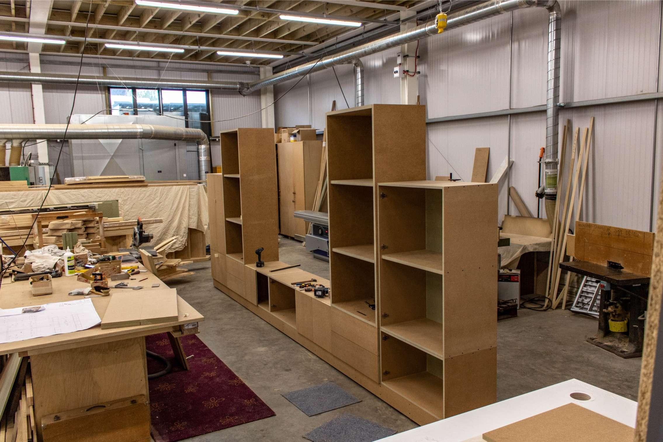 Kandd large display shelves