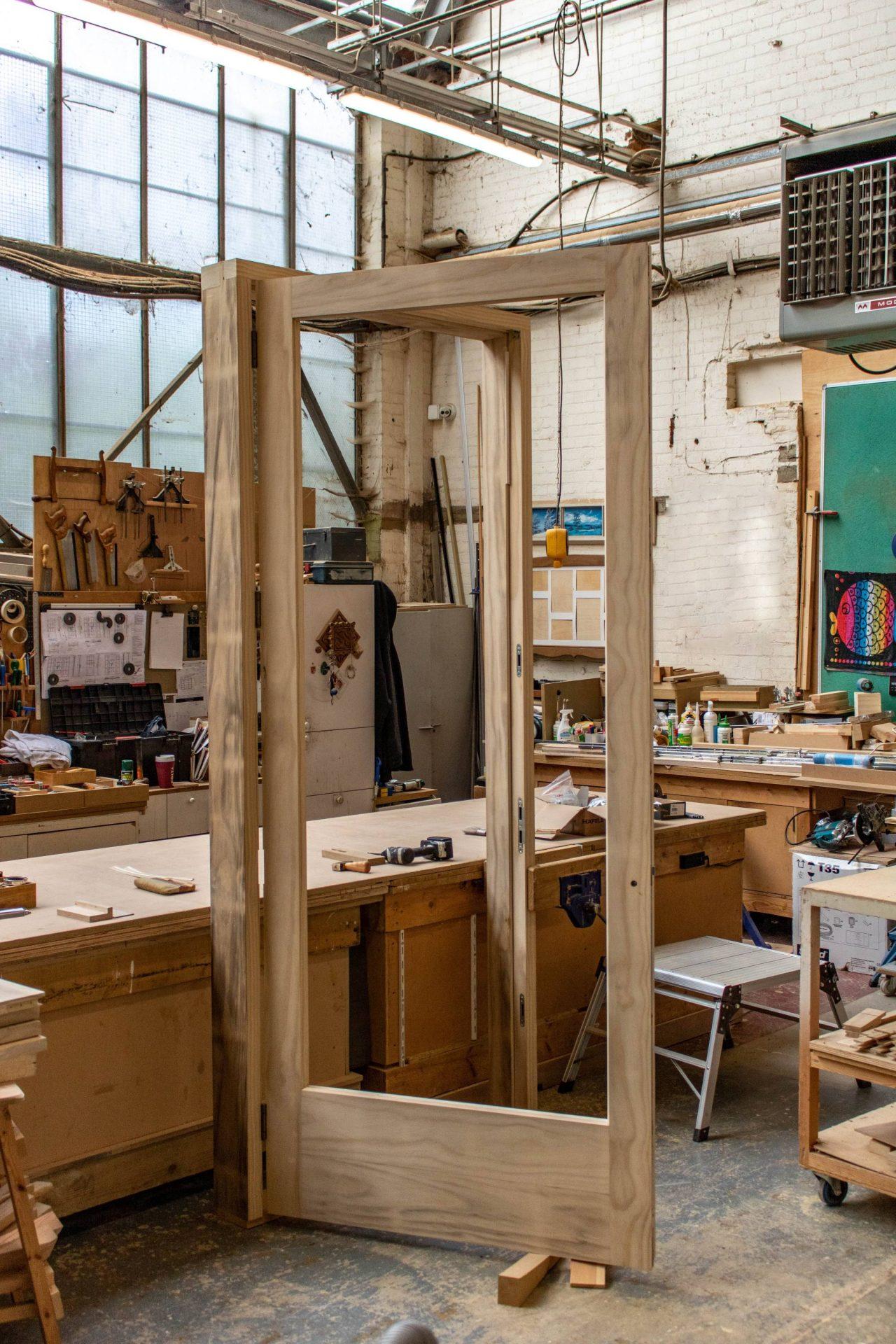 Kandd door frame design