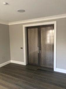 Belgravia grey Internal Double Doors