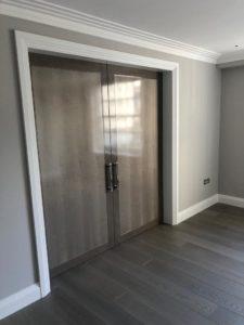 Belgravia grey internal door joinery