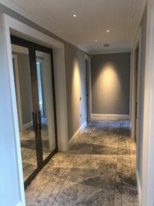Belgravia grey internal mirrored doors