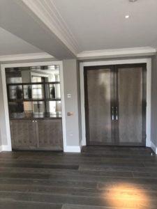 Belgravia grey internal door and cabinetry joinery