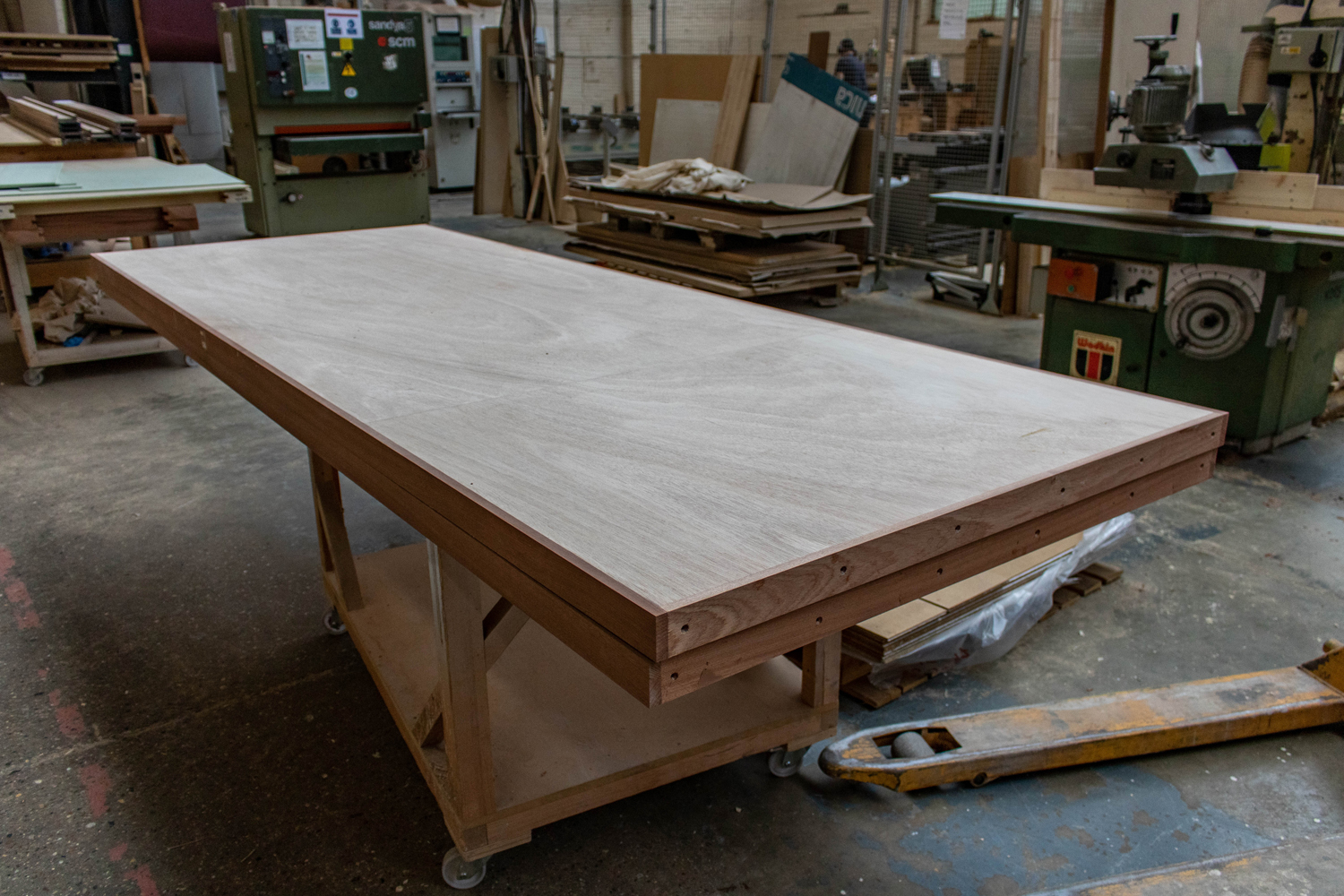wooden panel k&d joinery workshop london