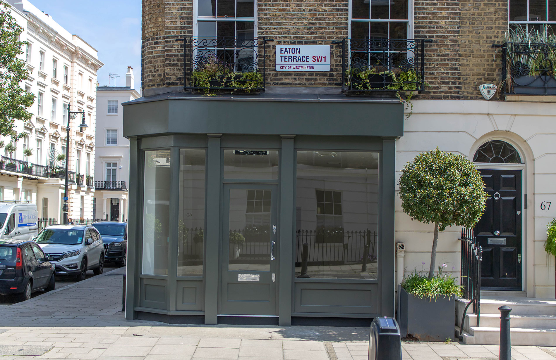 eaton terrace shopfront